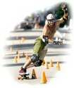 Jason Mitchell, Seismic Nationals 2007, Hybrid Slalom.  Photo by Greg Fadell