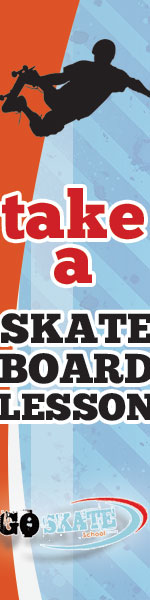 Take a Skateboard Lesson from Go Skate!